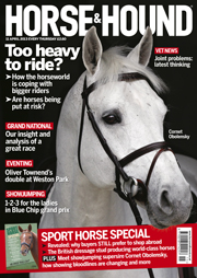 Horse & Hound cover 11 April