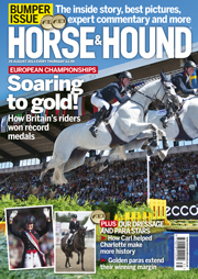 Horse & Hound 29 August cover