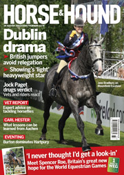 Horse & Hound magazine 14 August 2015