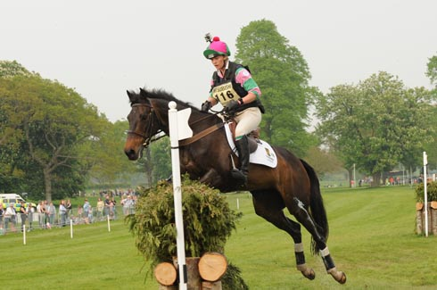 Lauren Shannon riding Quixotic at Badminton Horse Trials 2011