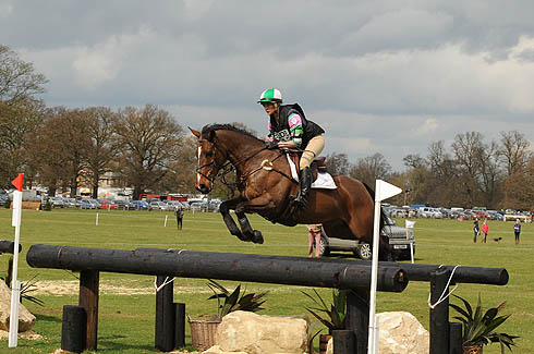 Lauren Shannon riding Zero Flight at Belton Horse Trials 2012