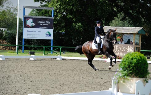 Dressage at Hickstead