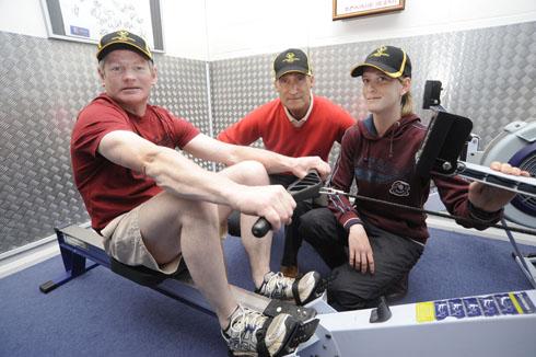 Mark Dwyer, former jump jockey is to row a marathon for the Injured Jockeys Fund