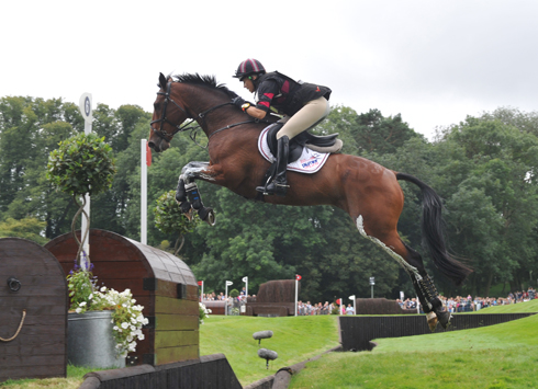 Sarah Bullimore and My Last One at Burghley 2012