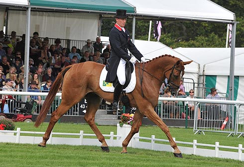 Oliver Townend and Armada at Burghley Horse Trials 2012