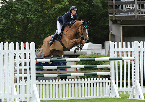 Ben Maher riding Quiet Easy 4 at Hickstead
