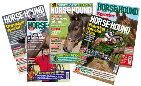 Horse & Hound magazines