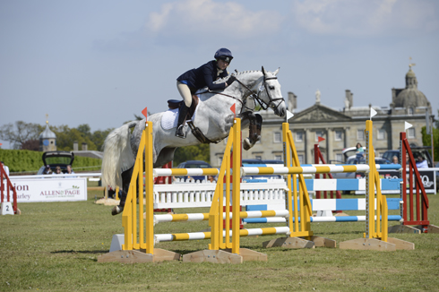 Action from Houghton Horse Trials