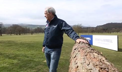 Ian Stark, Chatsworth course designer