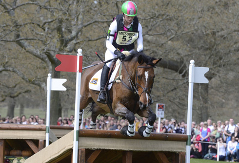 Lauren Shannon and Zero Flight at Badminton Horse Trials 2013