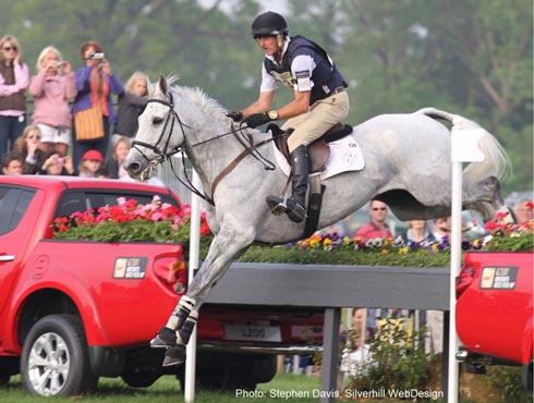 Mark Todd and NZB Land Vision win Badminton 2011