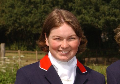 British Paralympic team rider 2004
