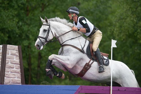 Andrew Nicholson (NZL) riding Mr Cruise Control at Luhmuhlen CCI4*
