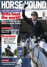 Horse & Hound 13 June 13 front cover