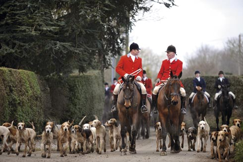 Cheshire Forest hunt