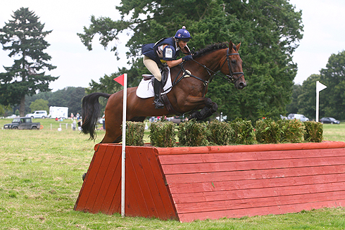Sara Squires riding Orto at Somerley 2012