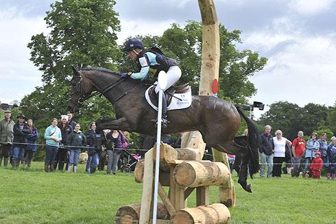 Jodie Amos riding Matt at Bramham Horse Trials