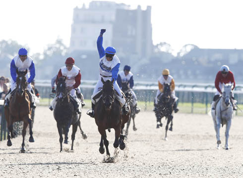 Eugenie Angot wins race in Chantilly