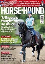Horse & Hound magazine cover 11 July 2013