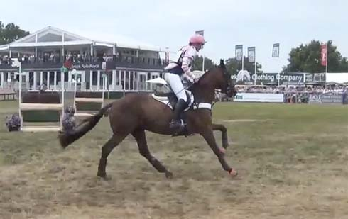 Headley Britannia with Lucinda Fredericks at Express Eventing 2013