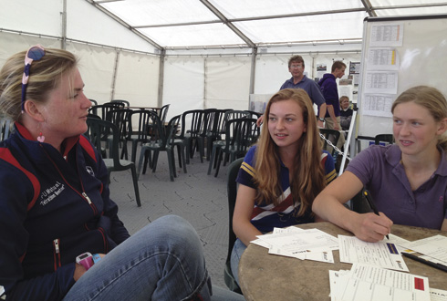 Top rider are acting as mentors to Pony Club competitors