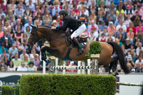 Nick Skelton and Big Star win Rolex Grand Prix of Aachen