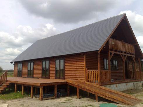 Timberspecs For All Types Of Log Homes Promotion Horse