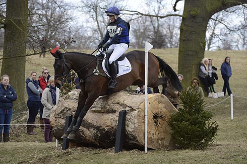 Zara Phillips competing at Belton Horse Trials 2013