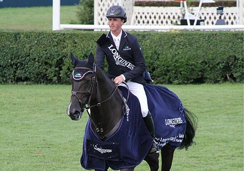 Ben Maher wins the King George V Gold Cup at Hickstead