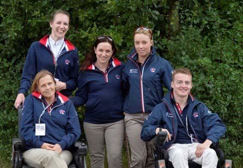 British para dressage squad for European Championships