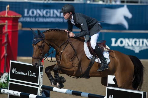 Scott Brash riding Sanctos