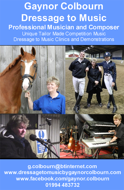 Dressage to music flyer