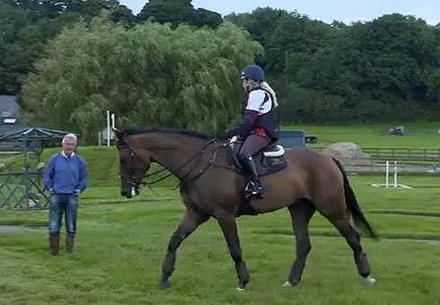 Laura Collett goes cross-country schooling