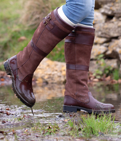 Win Dubarry Longford Boots With Land Rover Burghley Horse