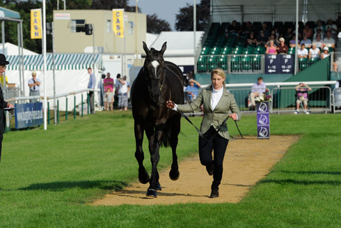 Emily Galbraith's ride was not accepted by the ground jury