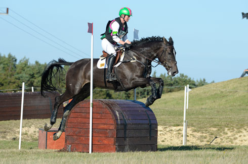 Lauren Shannon and Kilcannon Watlings Crunch at Burnham Market, September 2013