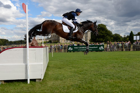 Jock Paget at Burghley riding Clifton Promise