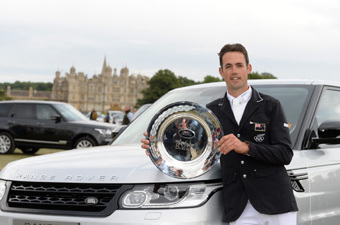 Jock Paget wins Burghley 2013