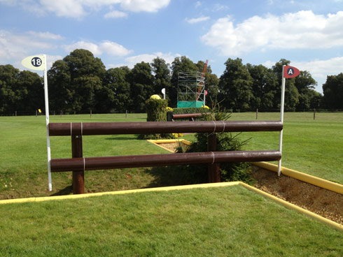 Rolex Combination at Burghley 2013