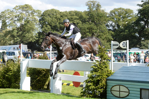 FRH Butts Abraxxas and Ingrid Klimke at Burghley 2013