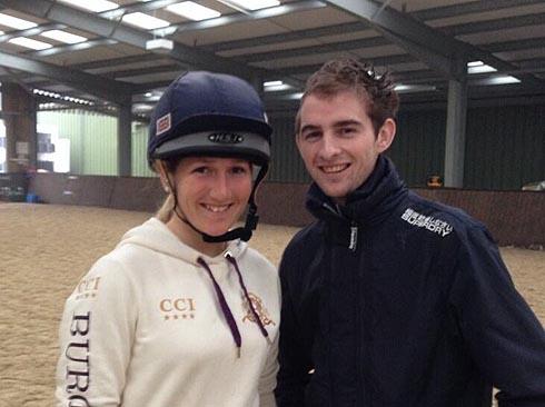 Brian Toomey visits Laura Collett