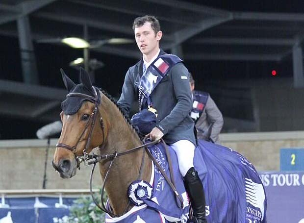 Scott Brash wins the Global Champions Tour in Doha