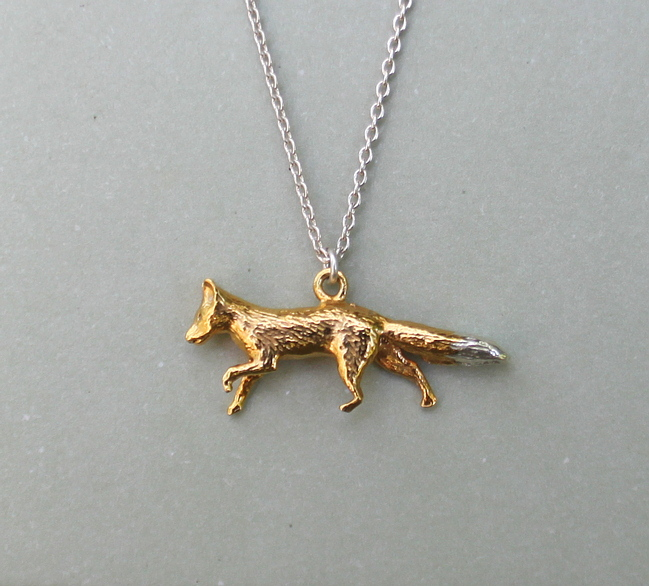 HiHo fox necklace