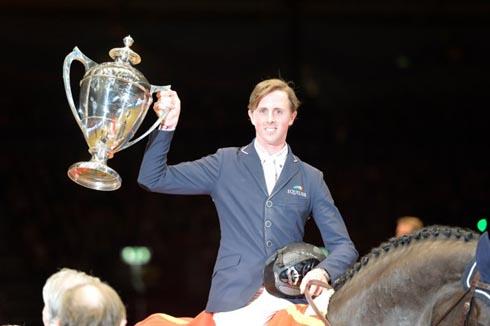 Ben Maher wins Olympia Grand Prix on Tripple X