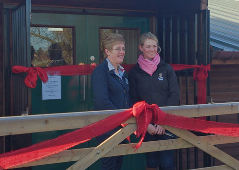 Lauren Shannon opening new Riseholme Feed Shop