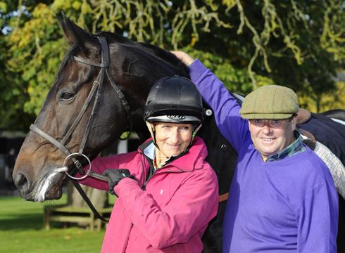 Sprinter Sacre, Lucinda Green and his trainer Nicky Henderson