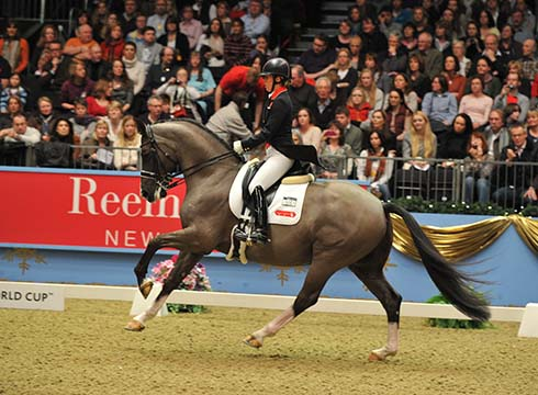 Valegro at Olympia