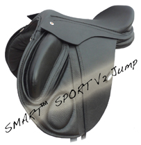 Smart showjumping saddle
