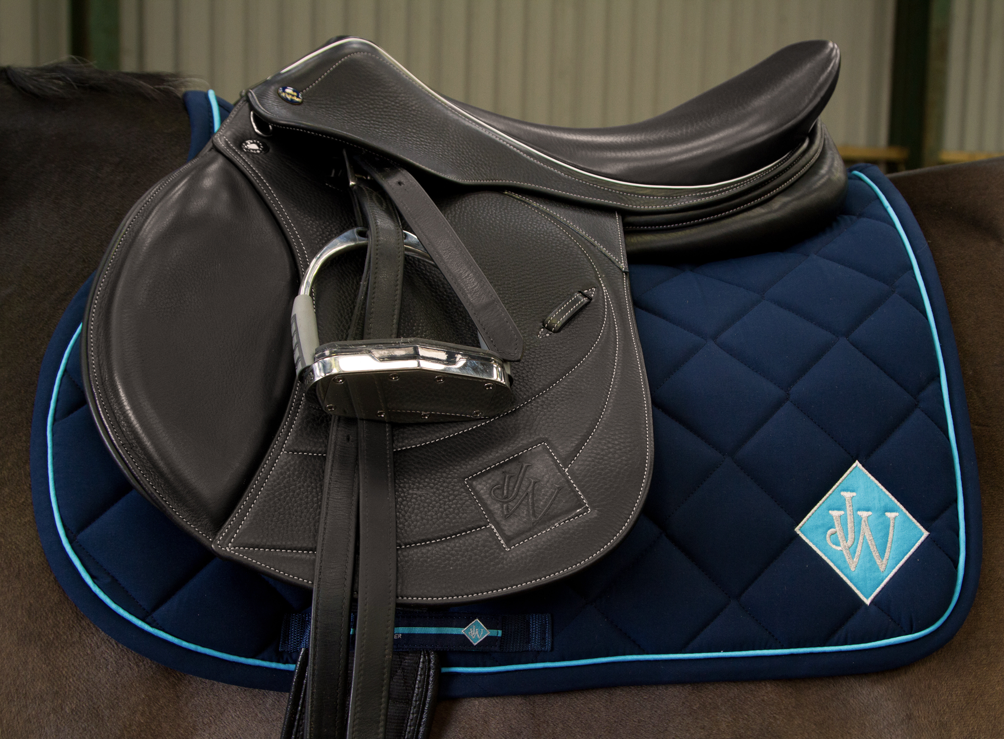 John Whitaker saddle cloth