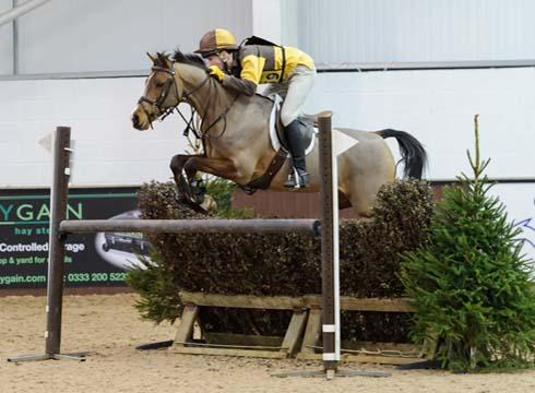 Tom Tulloch riding Spirit VI